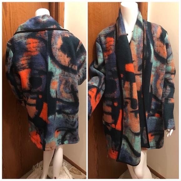 Jackets & Blazers - EUC ArtofCloth Dyed Wool jacket 2X